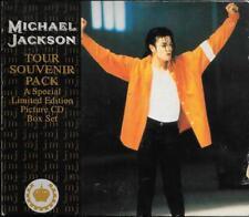 """MICHAEL JACKSON - RARO BOX 4 CDs 1992 """" TOUR SOUVENIR PACK """""""