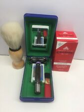 Safety razor + Shaving Brush with FREE Shave stick