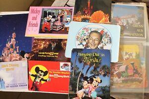Ak Collection 314 Walt Disney Mickey Mouse Donald Canard Disneyland USA Paris PC