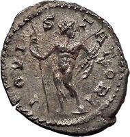 POSTUMUS 268AD JUPITER ZEUS Trier Authentic Silver Ancient Roman Coin i45554