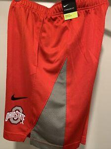 Nike Ohio State Buckeyes Basketball Shorts Football AR6845-657 Men's S NWT