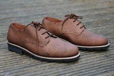 Eco-Friendly Zapatos-Cuero De Corcho + reciclados suelas de neumáticos-Goodyear Welt