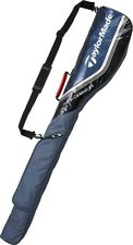 NEW Taylormade Golf Carry Caddy Club Case Bag 5-6 Clubs KL989 Navy Gray EMS