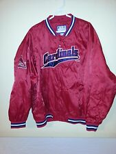 St Louis Cardinals XL MLB 1999 Quilted Jacket button up Genuine Merchandise