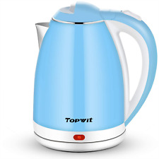 Topwit Electric Kettle, Double Wall Hot Water Kettle, 2L Electric Tea Kettle wit
