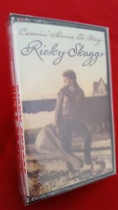 Ricky Skaggs~Comin' Home To Stay~Cassette~MINT CONDITION~ Fast 1st Class Mail
