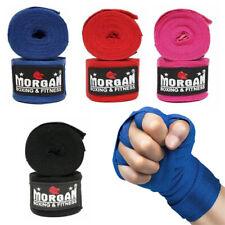 Morgan Sports - Combat Cotton Hand Wraps 4mtrs (Pair) - Boxing MMA Muay Thai