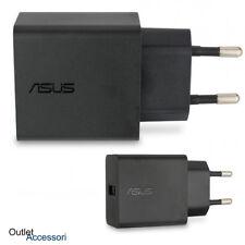 Caricabatterie ORIGINALE ASUS Presa Zenfone Memo PAD Padfone Laser GO 4 5 Max 3