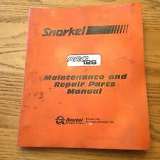 heavy equipment manuals books for snorkel for sale ebay rh ebay com Snorkel Manlift Parts snorkel manlift service manual