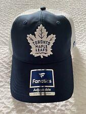 Fanatics Adults Toronto Maple Leafs Mesh Snapback NHL Hockey Baseball Cap Hat