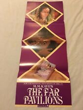 "Vintage The Far Pavilions 1984 29x11"" HBO Promo Wall Movie Poster Film Art Print"