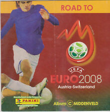 Panini Album empty / leer / leeg Road to Euro 2008 mini album C