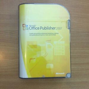 Microsoft Office Publisher  2007 Retail Edition