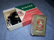 New ListingVintage Singer Simanco Sewing Needles in orig. case Made In Great Britain + Disc