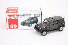 Takara Tomica Tomy #80 Jeep WRANGLER Black Scale 1/65 Diecast Toy Car Japan 2015