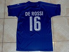 Puma Italia De Rossi Football Soccer Shirt Jersey Adult M or Youth XL