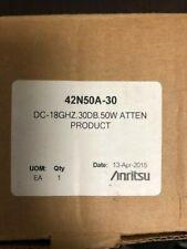 Anritsu 42n50a-30 Attenuator 30 DB 50 Watt Dc-18 GHz