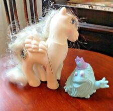 Vintage My Little Pony PRINCESS TIFFANY Pegasus and light blue Friendly
