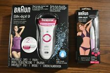 Open Box Braun Epilator for Women Silk-epil 9 5377 Hair Removal & Bikini Styler