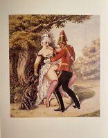Victorian Era Erotik Sex Nude Army Vagina Penis Soldier Love Art England 1880