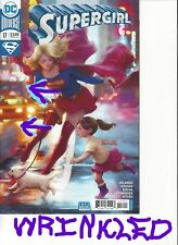 "SUPERGIRL #17 STANLEY ""ARTGERM"" LAU VARIANT COVER WRINKLED DAMAGED COPIES"