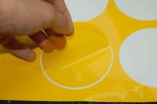 99-00 ek Honda Civic si Fog Light film overlay/ cover / vinyl - Pre-Cut - Yellow