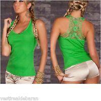 Top Canotta Donna Maglia T-shirt C & C Fashion  8704-B013 Tg L/XL