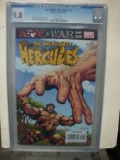 INCREDIBLE HERCULES #124 cgc 9.8 LOVE & WAR Pt. 4