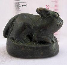CuTe! Old Bronze Opium Weight Lepus Pequensis Asian Long Tail Rabbit 75g