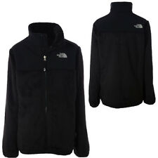 NEW Girl The North Face Denali Thermal Fleece Coat Soft Logo Jacket Black XXS 5
