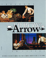 PUBLICITE ADVERTISING  1985    ARROW  chemise homme
