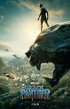 Black Panther movie poster (b) - Chadwick Boseman poster - 11 x 17 inches