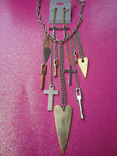 Fringe Necklace Set