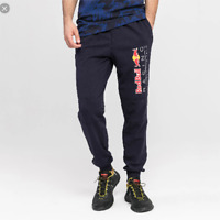 PANTALONI PUMA RED BULL 595175 01 LOGO SWEAT PANTS NIGHT SKY TUTA BLU F1 NUOVI