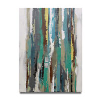 NY Art - Clean Coastal Colors Abstract 36x48 Oil Painting on Canvas - Sale!