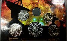 Error Coin Set • 2009 Royal Australian Mint Error Set • Missing Five Cents