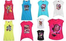 Girls' 100% Cotton Short Sleeve Sleeve Tunic T-Shirts, Top & Shirts (2-16 Years)