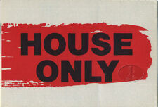 Police 1983 Synchronicity Backstage Pass House red