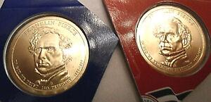 2010 P & D Franklin Pierce Presidential Set  *MINT CELLO*  **FREE SHIPPING