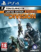 Tom Clancy's The Division (PS4) - LIMITED EDITION - MINT - FAST & FREE Delivery