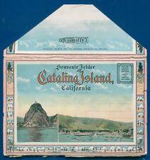 Catalina Island the magic isle California ca postcard folder #9