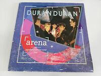 """DURAN DURAN ARENA LP VINYL 12"""" G/VG EMI 1984 SPANISH EDITION GATEFOLD"""