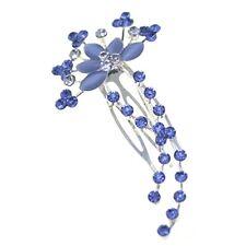 Head Jewellery Hair Combs Wedding Accessories Ladies Crystal Slide Clips Pieces