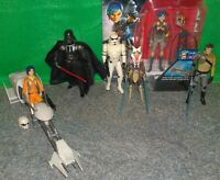Star Wars Rebels KANAN JARRUS, Ezra, SABINE WREN, Vader, AHSOKA TANO, Speeder