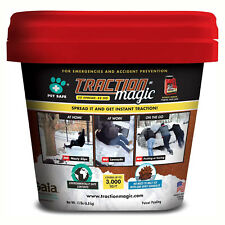 Traction Magic Quick Application All Natural Ice and Snow Melter, 15 Lb Bucket