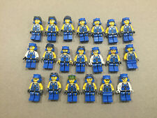 LEGO MINIFIG LOT of 20 Power Miners Engineer 8708 Miner minifigure Lot R203