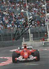 Michael Schumacher hand signed photo. Ferrari 2004. Monaco GP COA. 15X21