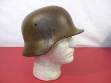 WWII Era German Army M1935 M35 Stahlheime Steel Helmet w/Liner Ring - Original