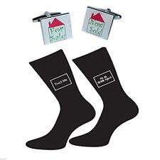 For Sale Now Sold Cufflinks & Trust me Estate Agent Socks Set BOCS090-X6S051