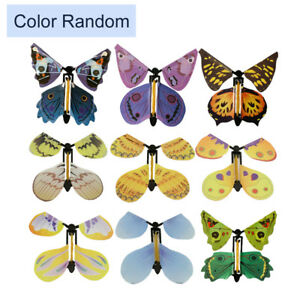1X Flying Butterfly Magic Card Tricks Works With All Greeting Cards Random Fun P